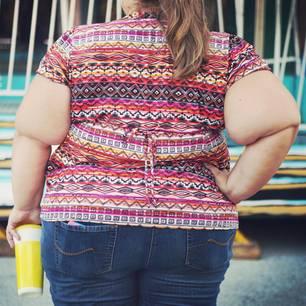 Übergewicht: Übergewichtige Frau