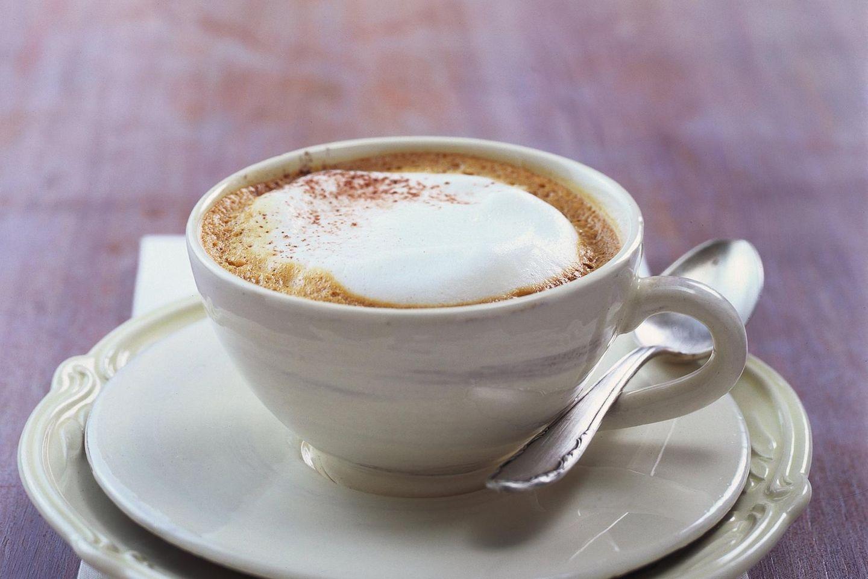 Perfekt zum Dessert: Cappuccino