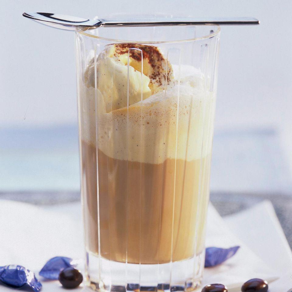 Kalter Latte Macchiato