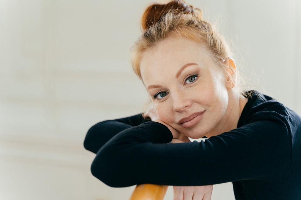Ballett-Highlights: Ballerina mit Dutt