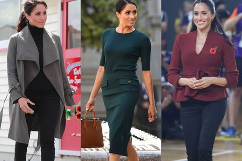 Mit diesen 5 Basics macht Meghan aus jedem Outfit einen echten Powerlook!