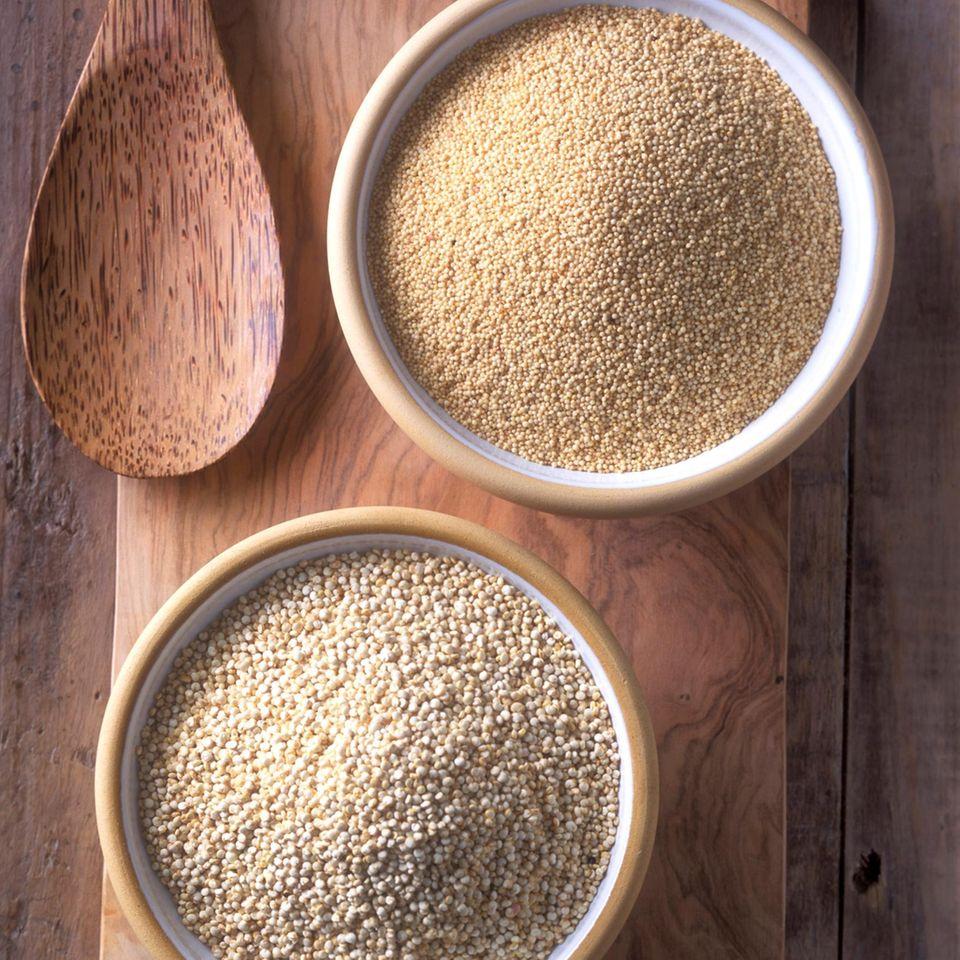 Glutenfreies Getreide: Quinoa und Amaranth
