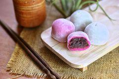 Mochi: Japanischer Reiskuchen mit Bohnenpaste