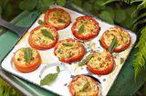 Gefüllte Tomaten mit Fontina-Käse