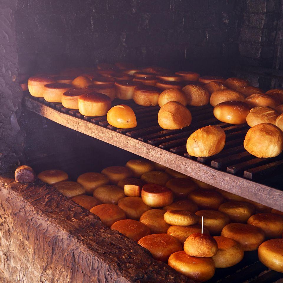 Käse räuchern: Geräucherte Käse im Ofen