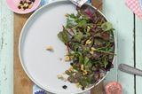 Blattsalat mit Rosinen