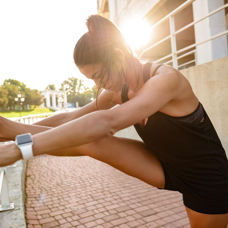Wie man Beine und Hüften in einer Woche schlank macht