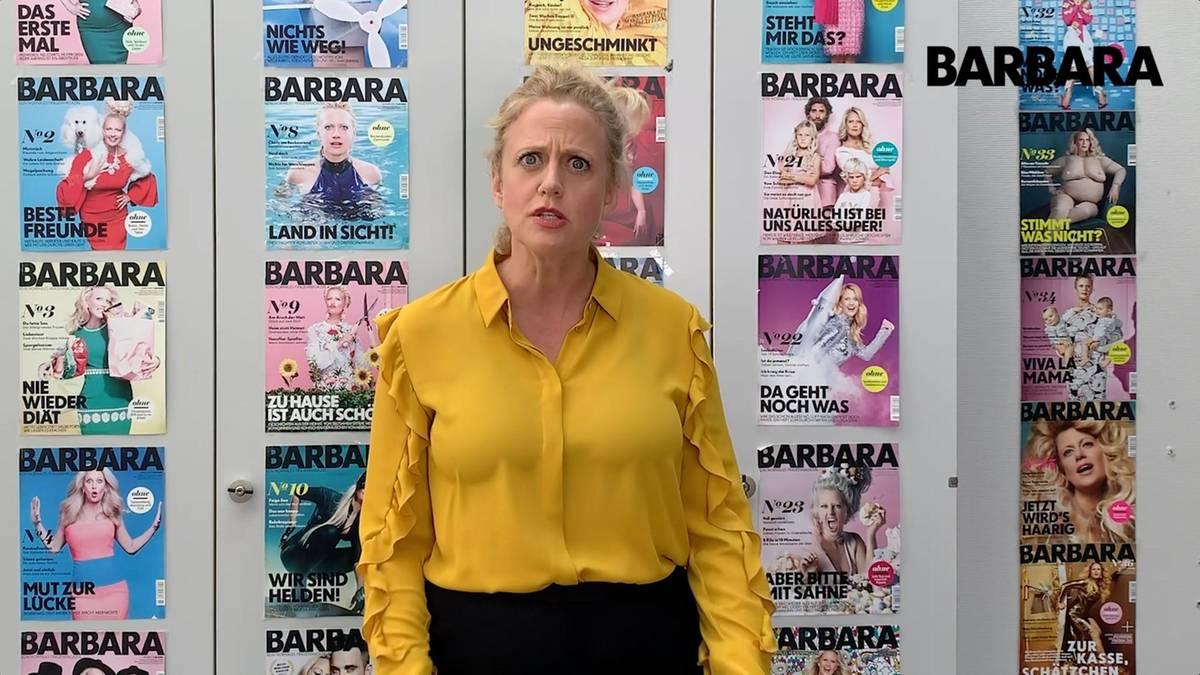 Barbara was denkst du über... Brusttape?