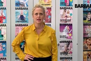 Barbara über katzenbaum