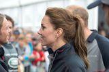 Herzogin Kate mit lockerem Pferdeschwanz