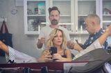 Promis mit Bob: Kate Beckinsale beim Frisör