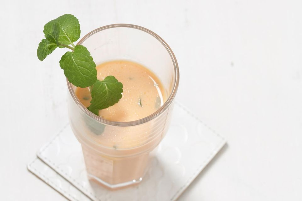 Möhren-Minze-Drink