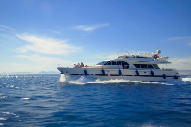 Eine Bootsfahrt, die ist lustig ... und zum Sabbern!