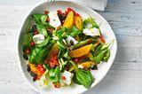 Salat mit Orange, Buchweizen und Feta