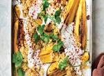 Miso-Aubergine mit Quinoa
