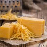 Cheddar Käse: Geriebener Cheddar