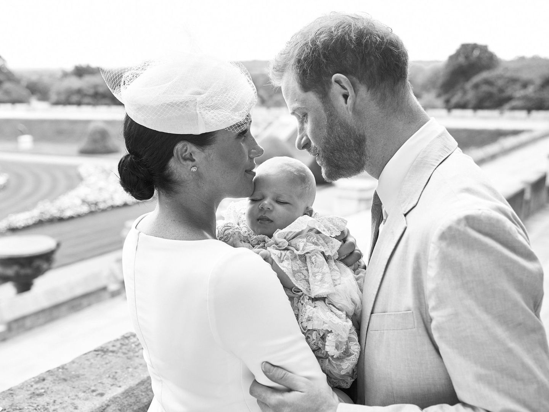 Royals: Prinz Harry mit Meghan Markle und Baby Archie