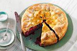 Sommer-Pie mit gemischten Beeren