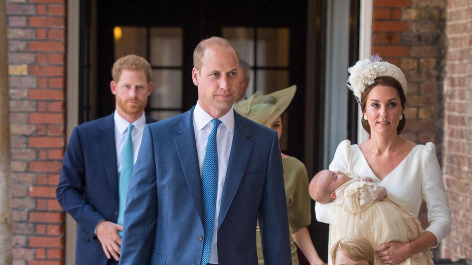 Prinz Louis hat eine schlechte Angewohnheit von Onkel Harry geerbt