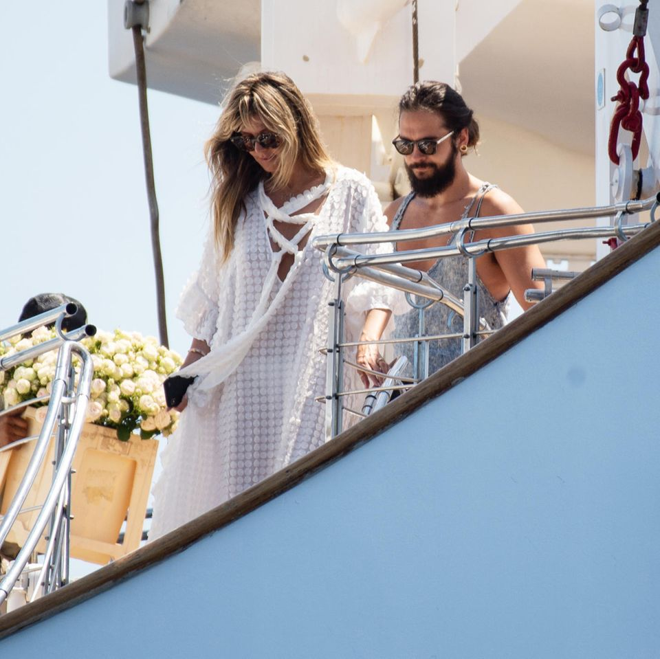 Heidi Klum und Tom Kaulitz heirateten am Samstag in Italien.