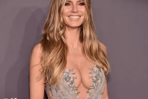 Heidi Klum trägt stolz ihre Tom-Kette