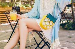 So luftig & so stylisch! Der Kaftan ist das schönste Trendteil dieses Sommers!