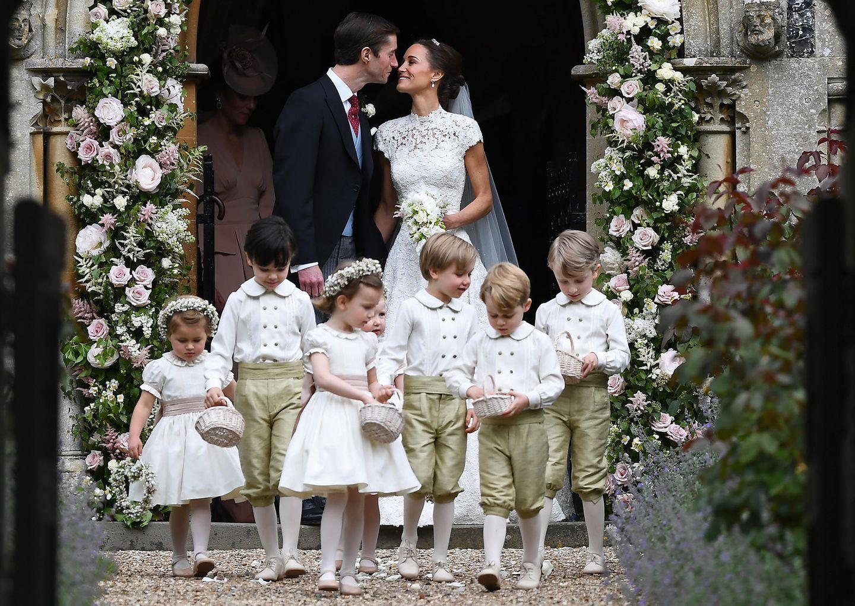 Royals: Pippa Middleton und James Matthews