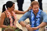 Royals: Meghan Markle und Prinz Harry am Strand