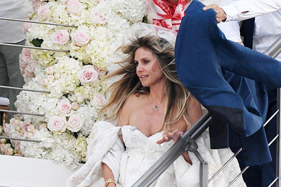 Heidi Klum und Tom Kaulitz haben vor Capri geheiratet