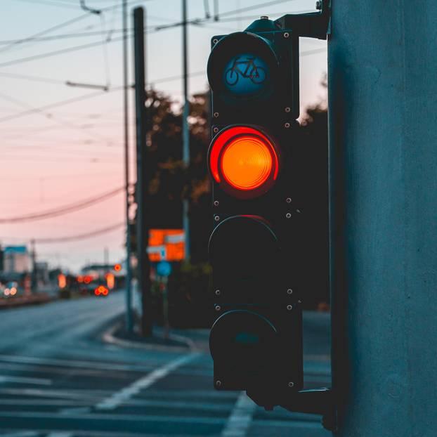 Rote Ampel