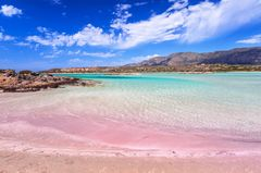 Pinke Strände: Elafonisi Beach, Kreta