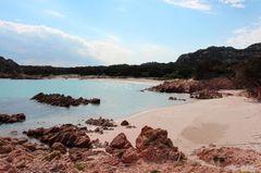 Pinke Strände: Spiaggia Rosa, Sardinien