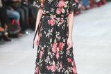 Herbstmode 2019: Kleid mit Blumenmuster