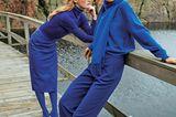Modetrends Herbst/Winter 2019: Zwei komplett blaue Outfits