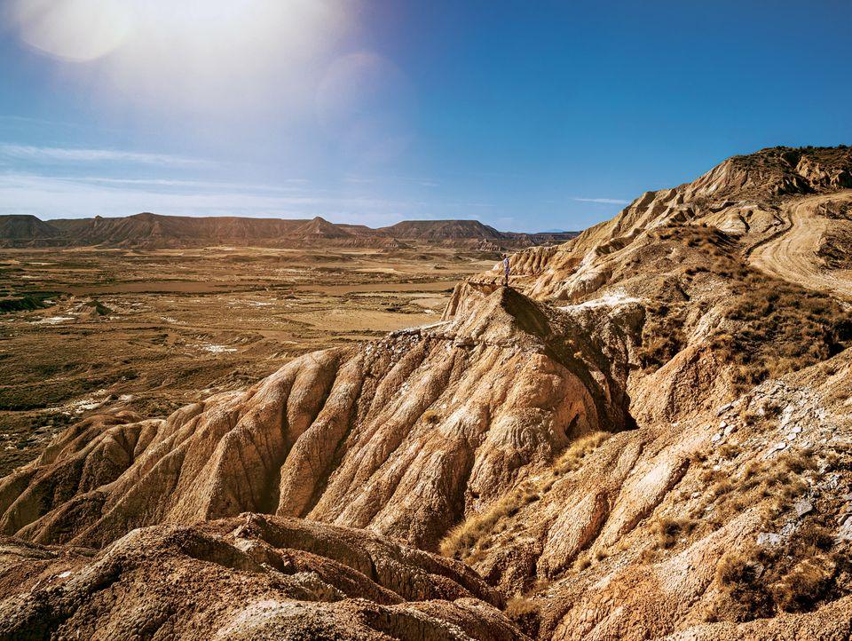Bardenas Reales: Hügelige Landschaft