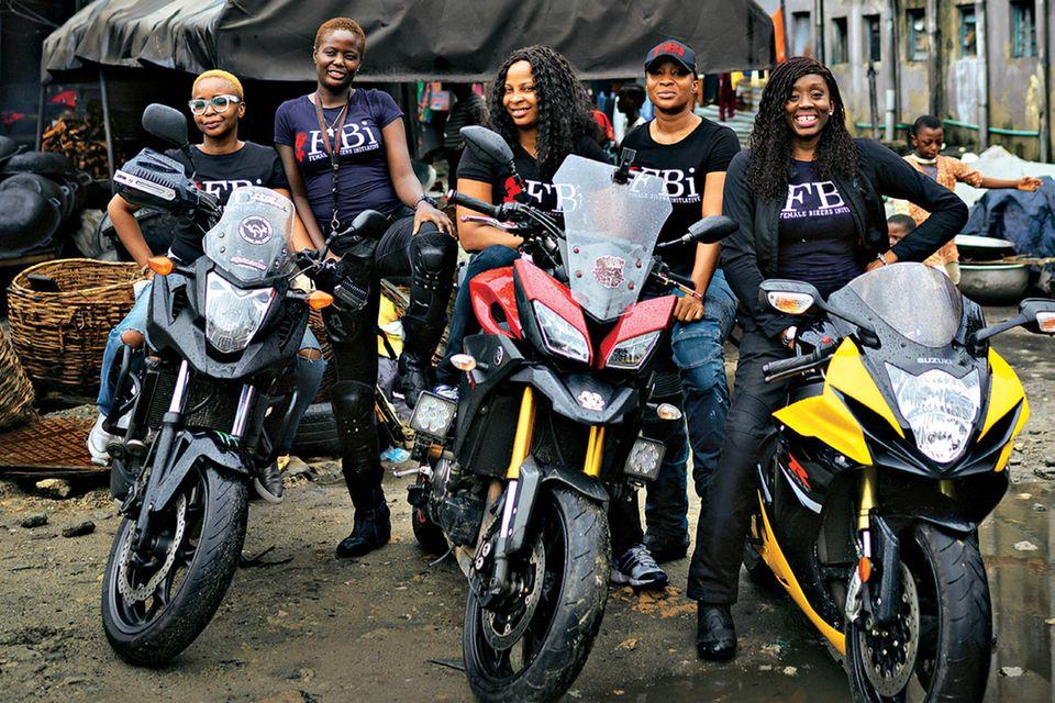 Female Bikers Initiative: Frauen auf Motorrädern