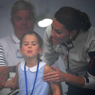 Freche Charlotte: So lässig reagiert Herzogin Catherine auf ihren Fauxpas!