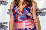 Heidi Klum mit Kleid und Gürtel