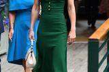 Kate Middleton im grünen Kleid