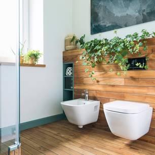 Farbtrends fürs Bad: 3 Töne erobern das Badezimmer: Modernes Badezimmer