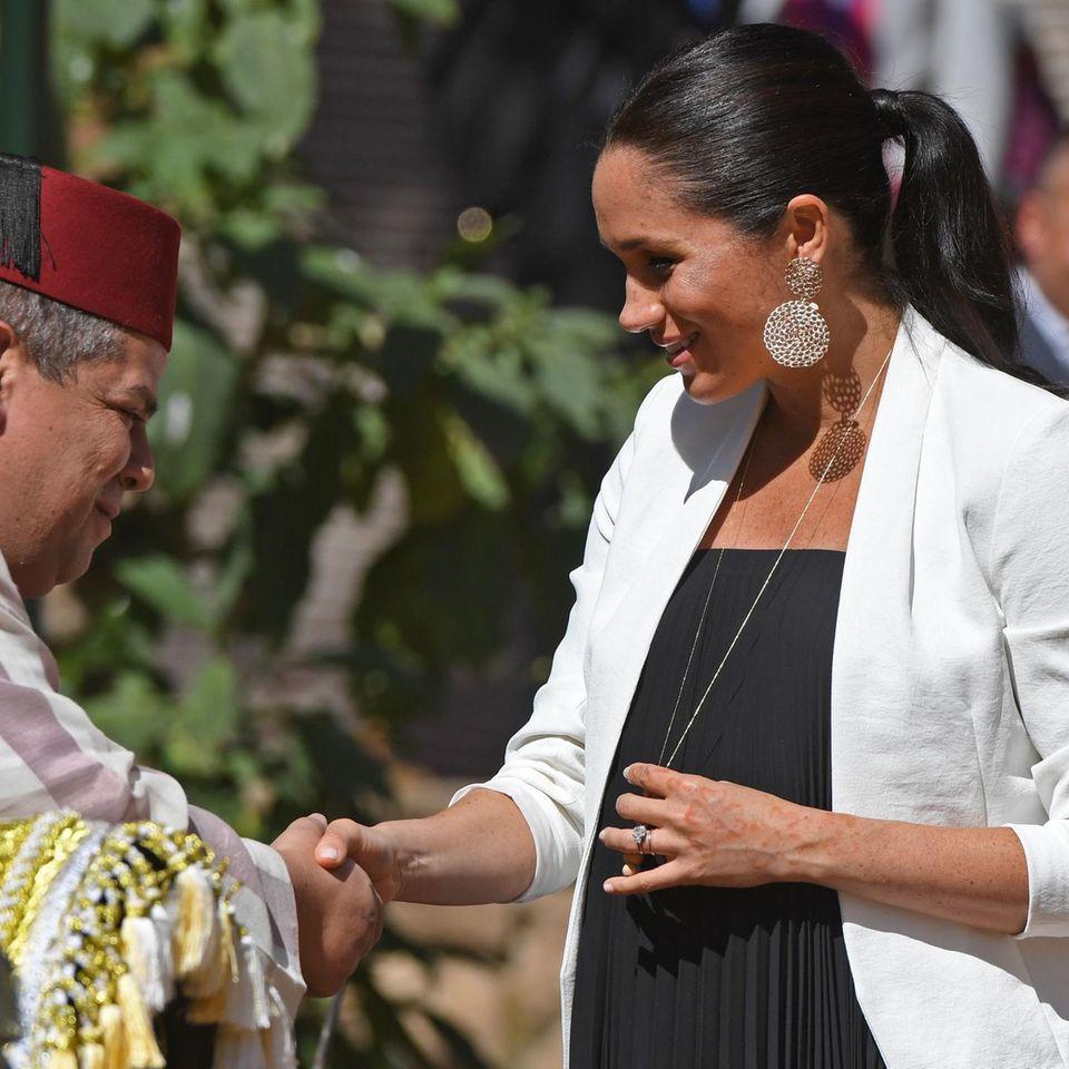 Herzogin Meghans privater Ring trägt eine Botschaft