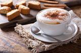 Cappuccino in einer Tasse