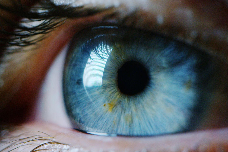 Tränende Augen: Tränendes Auge