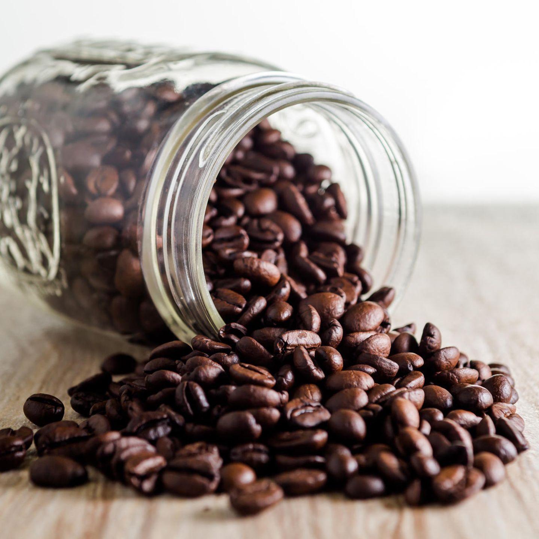 Kaffee-Fehler: Kaffeebohnen im Glas