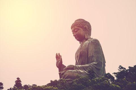 Buddha Zitate: Buddha Statue