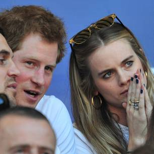 Cressida Bonas und Prinz Harry