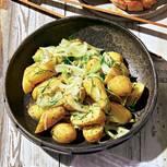 Fenchel-Kartoffel-Salat mit Dill