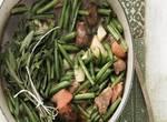 Deutsche Küche: Bohneneintopf