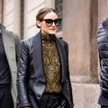 Trendfrisuren im Herbst: Olivia Palermo mit Dutt