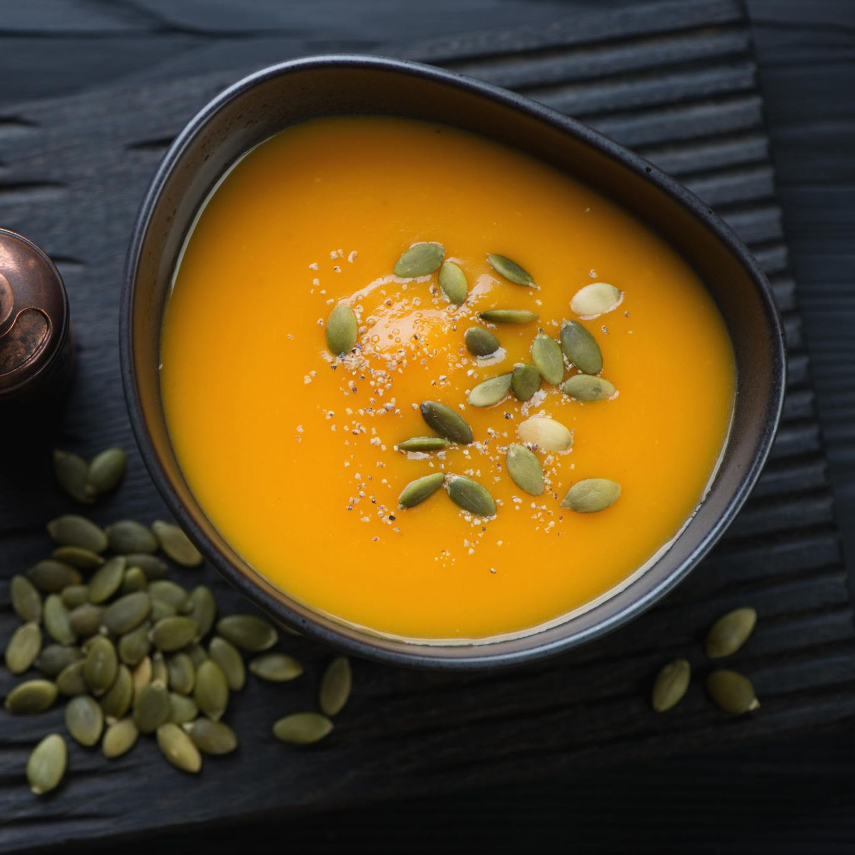 Kürbis Orangen Suppe Rezept